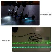 For Xiaomi M365 / M365 Pro Electric Scooter Colorful LED Light Strip Bar Lamp