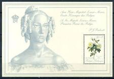Belgio 1989 Mi. Bl.59 Foglietto 100% Fiori **