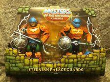 Masters Of The Universe Classics MOTU ETERNIAN PALACE GUARDS 2-pack NEW MIB MOC