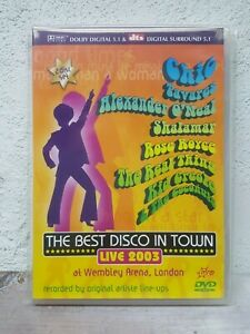 The Best Disco in Town DVD Music Nile Rodgers Chic, Tavares, Shalamar