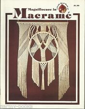New listing Magnificence in Macrame Turk's Head Series Vintage Pattern Instruction Book New