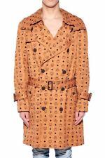 MCM Jacket x Phenomenon Cognac Monogram Trench Coat