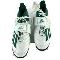 Adidas Quikslant 5 MD Football Cleats 600001 Green  & White Mens sz 11 1/2  NEW
