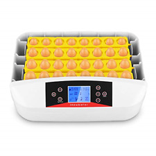 Automatic 32 Eggs Incubator with Built-in Egg Turner and Smart Temperature Co.