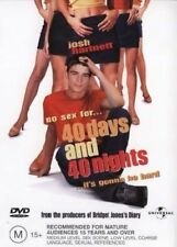 40 Days And 40 Nights DVD **LIKE NEW** - Josh Hartnett Shanny Sossamon -Reg 4 &2