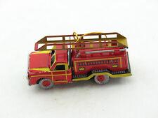 Ca 510 Gramm Vintage 25x10x10 Cm - Ca Feuerwehr Auto Im Antik Stil