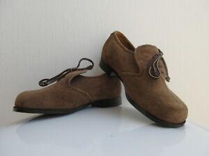 chaussures marron en daim le loup blanc pointure 28 NEUVES