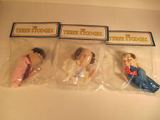 THREE STOOGES FINGER PUPPETS  1991 PRESENTS