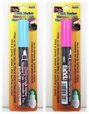 2 Marvy Uchida Bistro Chalk Marker 6 mm Bullet Tip - Pink & Blue