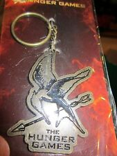The Hunger Games Mockingjay Cutout Metal Keychain 2012 Lions Gate Films NECA New