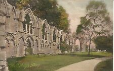 York St Mary's Abbey Francis Frith & Co printed Saxony pre-1914