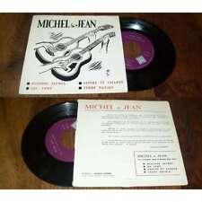 MICHEL & JEAN - Restons Jeunes Rare French Private Folk EP