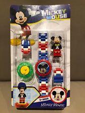 LEGO compatible - Mickey Mouse Horloge inclusief Mickey Mini Figuur NIEUW !!