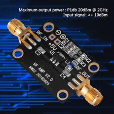 20DB RF Amplifier LNA 0.05-6GHz NF=0.6dB RF FM HF VHF / UHF Ham Radio Module stw