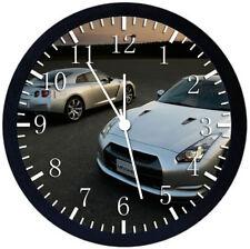 Nissan GTR Super Car Black Frame Wall Clock Nice For Decor or Gifts X49