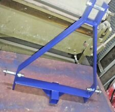 More details for 3 point linkage compact tractor pickup hitch trailer tow bar frame front & rear