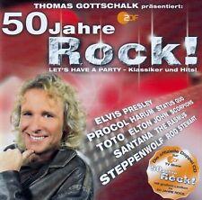 THOMAS GOTTSCHALK PRÄSENTIERT: 50 JAHRE ROCK / 2 CD-SET