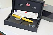 FOUNTAIN PEN AURORA OPTIMA 997 FLEX AMARILLA YELLOW