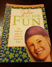 American Girl Doll Book Julie just For Fun Activities Crafts Fun Solve it Play