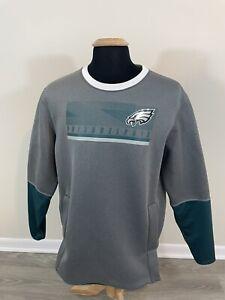 Nike Therma-Fit NFL Philadelphia Eagles Mens Size Large Crewneck Sweatshirt