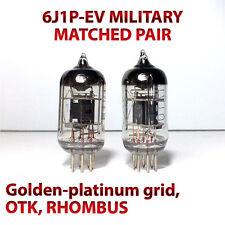 6J1P-EV x2 MATCHED Pair 6ZH1P-EV tube Same Date VOSHOD Little Dot EF95 6F32 6AK7