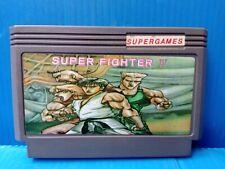 vintage famiclone SUPER FIGHTER II STREET FIGHTER HACK Old Famicom Nes cartridge