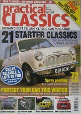 Practical Classics magazine 12/2004 featuring Westfield, BMW, Ford cortina