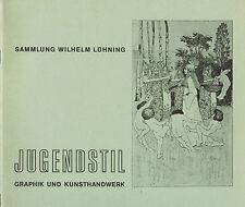 Altmeier, Jugendstil Graphik Kunsthandwerk Sammlung Lühning ua Vogeler Worpswede