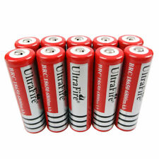 Batería 10 un. 18650 3.7V 6800mAh Li-ion Recargable para Linterna Faro Nuevo