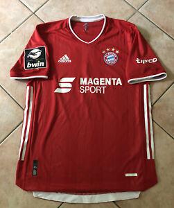 """Bayern München original Matchworn Trikot """"Magenta Sport"""" Will"""