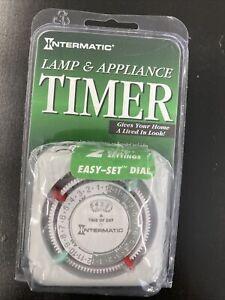 INTERMATIC Lamp/Applianc 24 Hr Timer Model# TN111C-UPC 078275047501 *BRAND NEW*