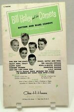 1955 Bill Haley and His Comets Sheet Music Rhythm and Blues Combos T59