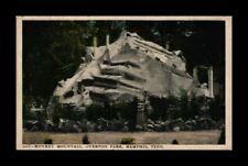 DR JIM STAMPS US MONKEY MOUNTAIN OVERTON PARK MEMPHIS TENNESSEE POSTCARD