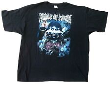 Official Cradle of Filth bonne chance on the Devil 's thunder Heavy Metal t-shirt xxl