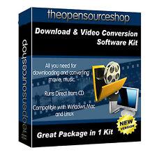 Vídeo profesional para descargar el software de conversión kit de disco DVD