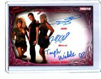 TNA ODB Roxxi Taylor Wilde Triple Knockouts 2009 Autograph Card /25