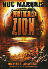 PROTOCOLS OF ZION: The Plot Against Israel by Doc Marquis. Set of 2 DVDs. *NEW*