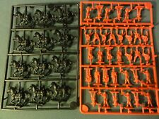 Eagle Games British 1800's India Cavalry + Infantry 1/72 Mos red Plastic