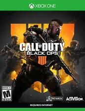 Call of Duty: Black Ops 4 Xbox One  Standard Edition New