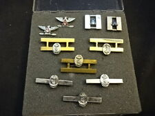 """Military Pin Lot Tie Bar Gemsco USN United States Navy Anchor """"A""""  Eagle"""