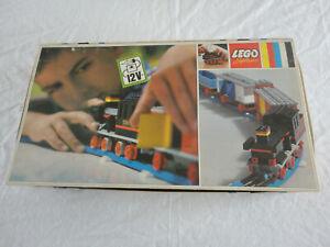 ANCIEN Lego System TRAIN LOK 720 en boite BOX rail 12 V RARE IKA P 431 Vintage