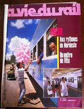 La Vie du Rail  n°2056 du 8/1986; Brésil; au rythme du Nordeste/ Métro de fête