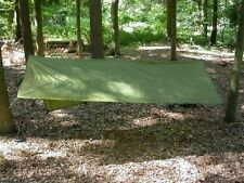Olive Hootchie Hoochie Shelter Individual Tarp Tent  w/ BONUS hoochie cord