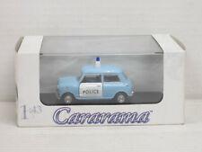 """Mini Cooper in hellblau/weiß """"Police"""", Polizei, Cararama/Hongwell, OVP, 1:43"""