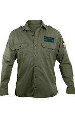 Jacksonville Jaguars Mens NFL Military Shirt NEW 100% Cotton Team Logo Patches