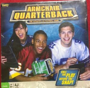 The Ultimate Live Football Game Armchair Quarterback New Sealed
