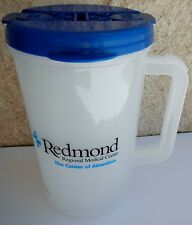 Plastic Insulated Redmond Blue Thermo 30oz Mug & Lid with Straw