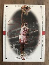 1998-99 Upper Deck SP Authentic MICHAEL JORDAN Card 6 Bulls