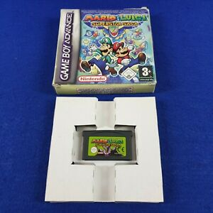 *Gameboy Advance MARIO & LUIGI Superstar Saga (NI) Boxed GBA PAL REGION FREE