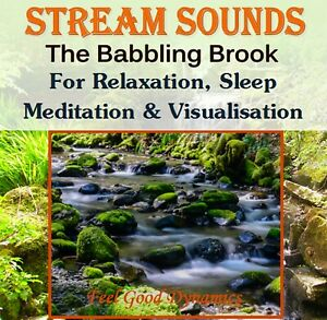 Stream Sounds CD – The Babbling Brook – For Relaxation, Sleep & Tinnitus